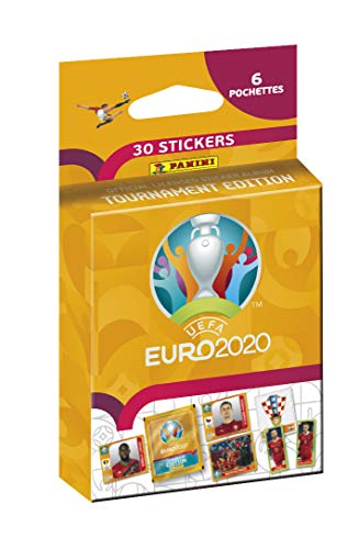 Panini France SA UEFA Euro 2020 Sticker 2021 Tournament Edition Blister 6 Hüllen