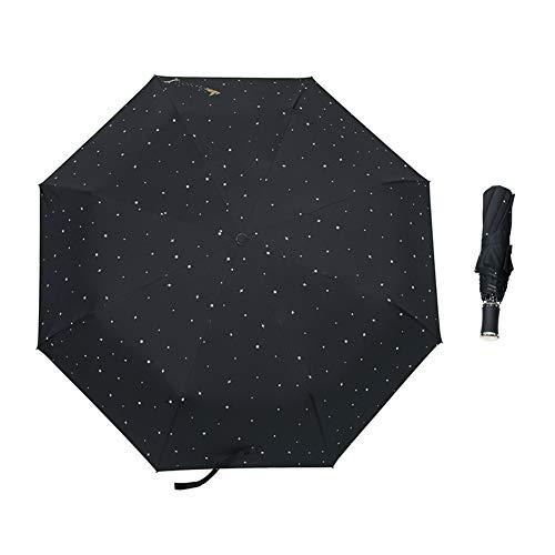 Reiseschirm Winddichte Sun&rain Sonnenschirm Klappschirme,tragbarer Kompakter Reiseschirm - Sunproof E 57cm*8k