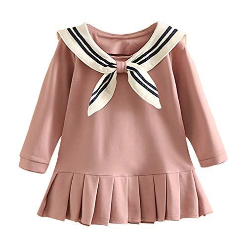 Mud Koninkrijk kleine meisjes geplooide zeeman jurk lange mouw