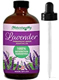 Naturopathy Lavender Essential Oil, 100% Natural Therapeutic Grade, Premium Quality Lavender Oil, 4 fl. Oz - Perfect for Aromatherapy and Relaxation