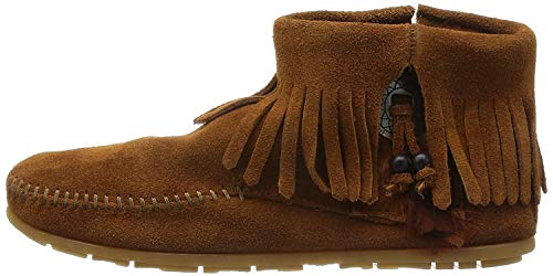 Minnetonka Damen Concho Feather Boot Mokassin Stiefel, Braun (Brown 2), 39 EU
