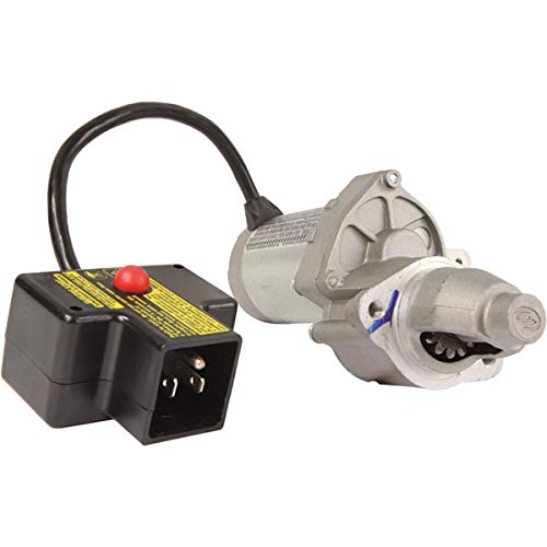 New Total Power Parts Starter 410-22065 Compatible with/Replacement for Reference Number 1ACQD170A, ACQD170A, JQ170-2 110V, Rotation CCW, Teeth 14