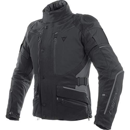Dainese Motorradjacke mit Protektoren Motorrad Jacke Carve Master 2 GTX Textiljacke schwarz 56, Herren, Tourer, Ganzjährig