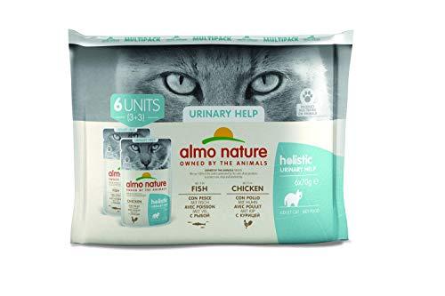 Almo Nature - Pack de Soporte urinario para Gatos (6 x 70 g) ✅