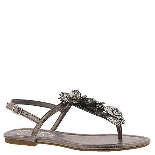 Jessica Simpson Kelanna Women's Sandal 9.5 B(M) US Alloy