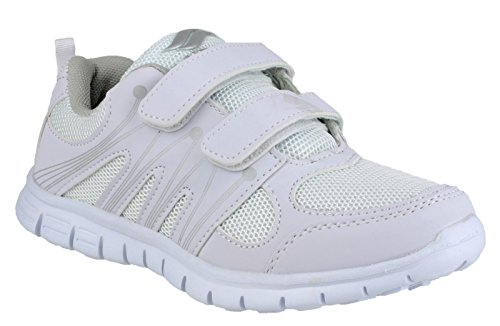 Mirak Ladies Milos Velcro Lightweight Sports Trainers White