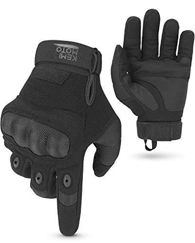 Guantes de moto, guantes táctiles deportivos, guantes tácticos transpirables, aptos para moto, equitación, tiro, escalada, combate, talla M
