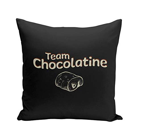 Coussin 40x40 cm Team Chocolatine Humour Blague Toulouse Sud