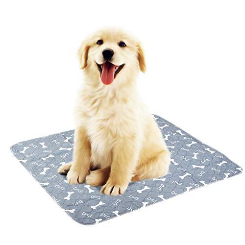 Alfombrilla de Orina Impermeable para Mascotas Alfombrilla Reutilizable Lavable para Mascotas Alfombrilla de Incontinencia para Mascotas Alfombra para Perros Gatos Interior