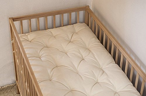 """Wool 2"""" Topper/Crib or Cot Size/Custom Sizes & Fabrics Available"""
