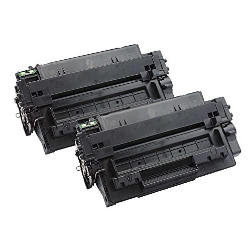 2 Go Inks Cartuchos de tóner láser Negro para reemplazar HP CE255A (55A) Compatible/Non-OEM para HP Laserjet Pro Impresoras