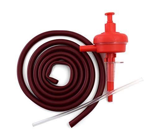 Duhalle 861 kit tireuse Automatique, Plastique, Rouge, 5 x 15,5 x 38 cm