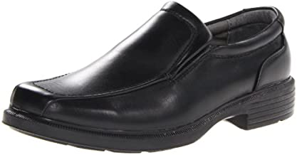 Deer Stags mens Greenpoint loafers shoes, Black, 10.5 US