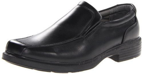 Deer Stags mens Greenpoint loafers shoes, Black, 12 Wide US