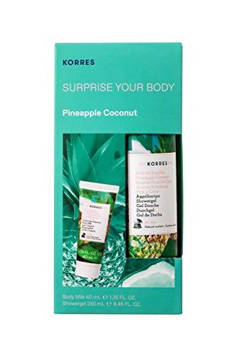 KORRES PINEAPPLE COCONUT Surprise Your Body Set 250 ml