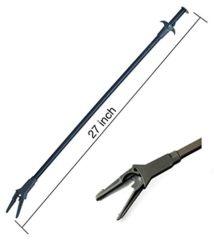 AquaticHI Aquarium Tongs 27 inch (70 cm), 100% Reef Safe, Multi Purpose for Fresh and Saltwater Fish...