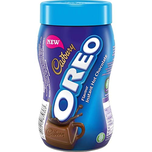 Cadbury Oreo Flavour Instant Hot Chocolate 260g - Heisse Oreo Trink Schokolade