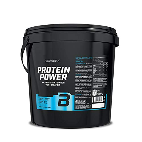 Biotech USA Protein Power - 4 kg Strawberry-Banana