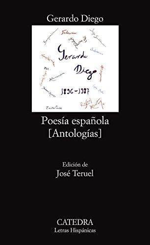 Poesía española: (Antologías) (Letras Hispánicas)