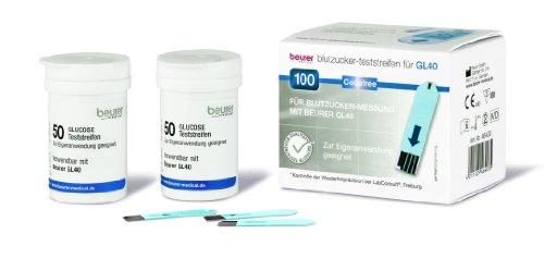 Beurer Teststreifen GL 40 100er Dose