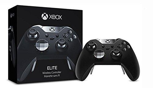 Microsoft Xbox Elite Wireless Controller Manette de Jeu Xbox One Noir - Accessoires de Jeux vidéo (Manette de Jeu, Xbox One, D-Pad, sans Fil, RF, AA)