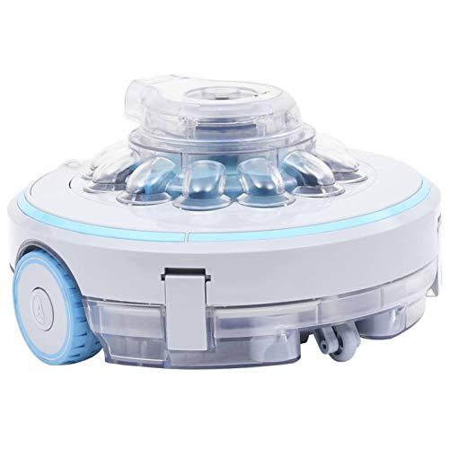Ksodgun Poolroboter Poolreiniger Kabellos 27 W vollautomatisch Pool Reinigung Poolbodenreiniger Schwimmbad-Reinigungsroboter