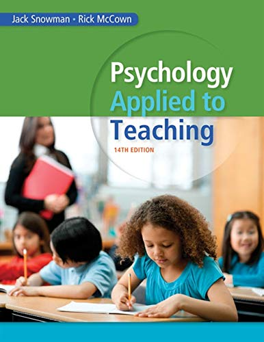 Download Psychology Applied to Teaching (Mindtap Course List) 1285734556