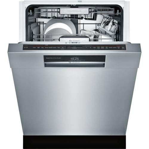 Bosch Benchmark Series 24' Stainless Steel Recessed Handle Dishwasher