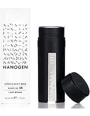Nanogen Fibras Capilares Queratina - Castaño Claro 30g