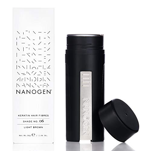 Nanogen Fibras Capilares Queratina - Castaño Claro