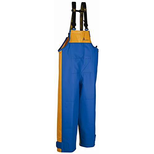 Guy Cotten X-Trapper Bib Trousers (X-Large, Blue/Yellow)