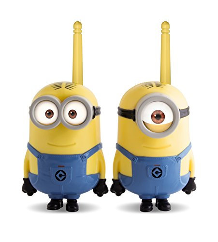MINIONS- Despicable Me, Walkie Talkie, 29.5 x 19.3 x 7.9 (IMC Toys 375048)