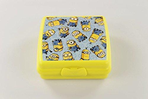 TUPPERWARE To Go Sandwich-Box gelb Minions Brotbox Schule Pausenbrotbehälter