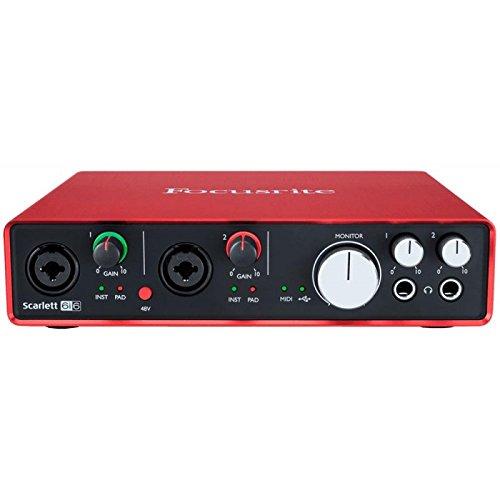 Interfaz Audio Scarlett 6i62nd Gen