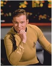 William Shatner 8x10 photo Star Trek TJ Hooker 911 Boston Legal hand on chin