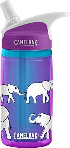 Camelbak Kinder Eddy Kids Trinkflasche 0.4L isoliert Wasserflaschen, Elephant Parade, 400ml