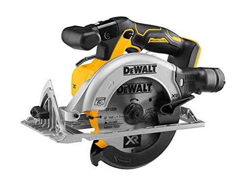 DEWALT DEWDCS565N DCS565N XR Brushless Circular Saw 18V Bare Unit, 18 V, Black-Yellow