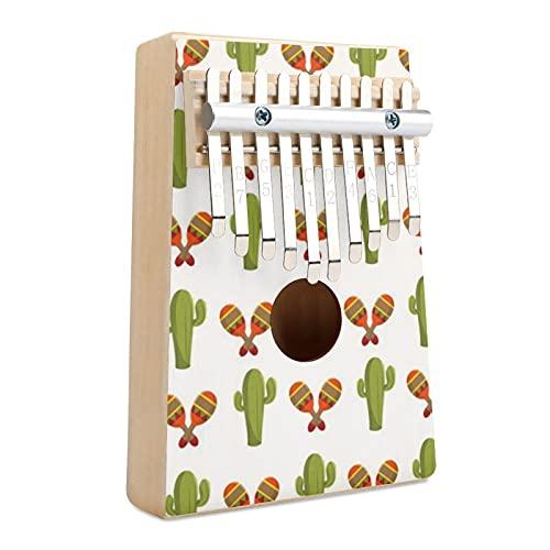 Patrón de cactus y maracas, regalo para niños y adultos, regalo para niños y adultos, para principiantes y profesionales.