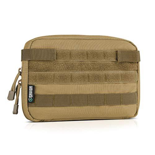 Savior Equipment Tactical Military MOLLE Admin Pouch Modular Utility Tools Multi-Purpose EDC Waist Belt Organizer Bag