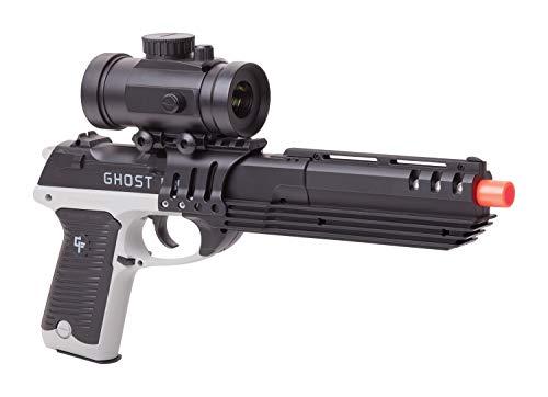 GameFace GFM39PG Ghost Mayhem Spring-Powered Single-Shot Airsoft Pistol , Grey/Black, Caliber: 6mm
