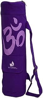 Exercise Yoga Mat Gym Bag w/Cargo Pocket