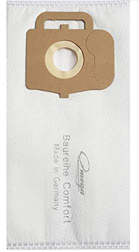 20 Staubsaugerbeutel OM 1575m passend für Omega HSS 33/3/4/5/6/7, Omega HSS 8, Omega 15585.340.016.5, Omega Comfort 1600, Omega Comfort Serie, Omega Comfort 1300, Omega HSS 33/.