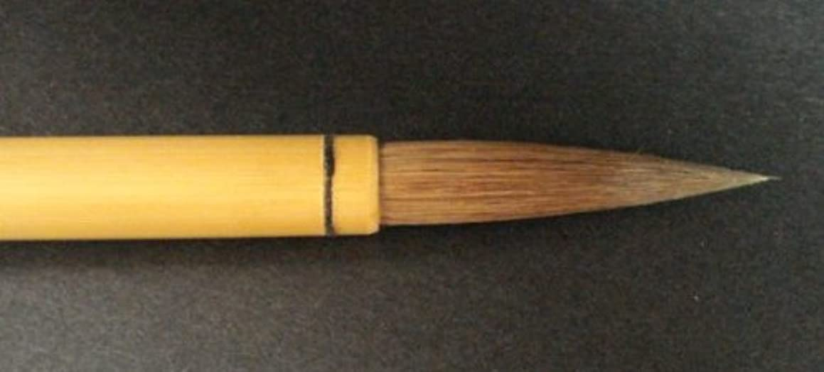 Darice Yasutomo Bamboo Calligraphy Brushes No. 6