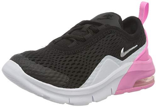 Nike Jungen Air Max Motion 2 (TDE) Leichtathletikschuhe, Mehrfarbig (Black/Metallic Silver/Psychic Pink/White 001), 26 EU