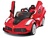 La Ferrari FXXK Genuine Official Licensed Kids 12V Electric Ride On Car with MP3 and Remote Control - Red