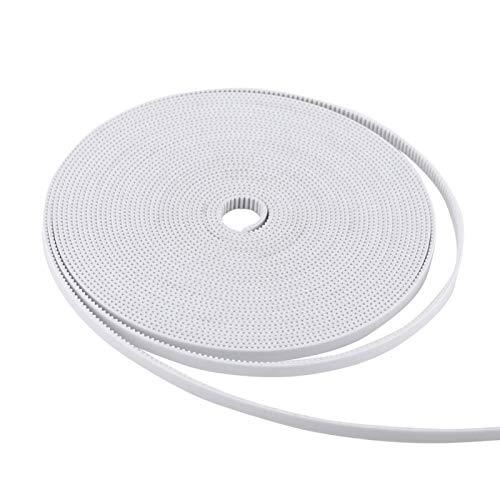 LANTRO JS - 10M White Timing Belt Synchronous belt for 3D Printer