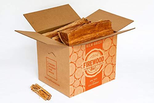 Premium Cherry Kiln-Dried Firewood 36-42 Lbs