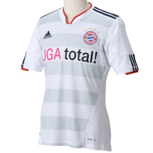 adidas Kinder Trikot FCB A Y, white-Light grey/Light grey, 152, P95814