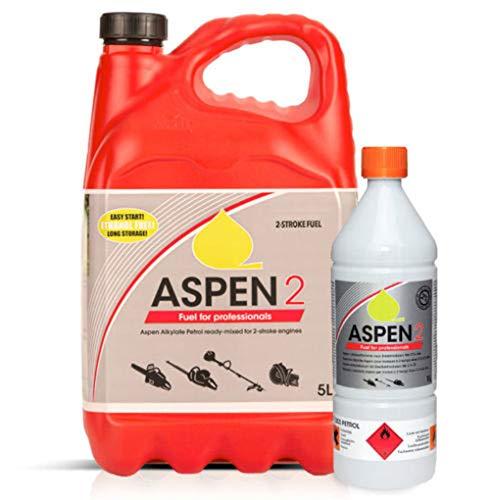 hewins Aspen 2 Premium Qualität vormontiert bei 50:1 2-Takt-Kraftstoff (5 Liter)