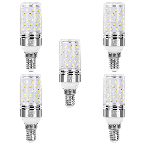 SanGlory 5er Pack E14 LED Lampen, 9W Leuchtmittel LED E14 Ersatz 80W Glühlampe, Glühbirnen LED E14 Kaltweiß 6000K 950LM E14 LED Mais Birnen Maiskolben, Nicht Dimmbar (5er 9W E14 Kaltweiß)